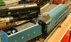 Hornby LNER A4 class - 4468 Mallard - super detail (cab)