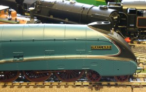 Hornby LNER A4 class - 4468 Mallard - super detail (profile)