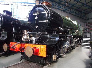 Nick Littlewood - GWR King class - 6000 King George V - NRM - 3rd March 2013