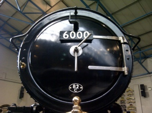 Nick Littlewood - GWR King class - 6000 King George V - NRM - 6th October 2012 smokebox door