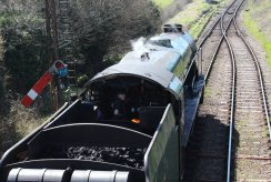 Watercress Line - 2013 - Ropley - 850 Lord Nelson (cab)