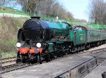 Watercress Line - 2013 - Ropley - 850 Lord Nelson