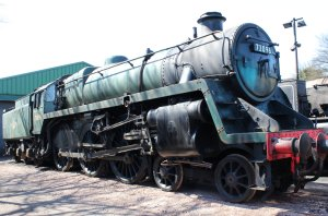 Watercress Line - 2013 - Ropley - BR Standard 5MT - 73096