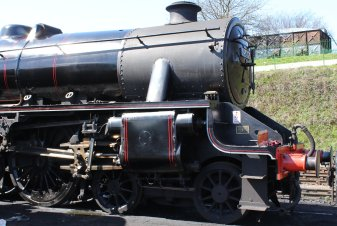 Watercress Line - 2013 - Ropley - Ex-LMS Black 5 5MT - 45379