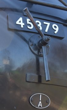 Watercress Line - 2013 - Ropley - Ex-LMS Black 5 5MT - 45379 (amokebox)