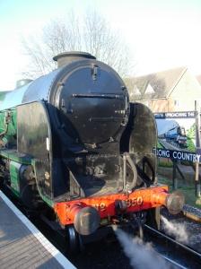 Watercress Line - Alton - 2013 - Real Ale Train - 850 Lord Nelson (smokebox)