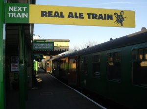 Watercress Line - Alton - 2013 - Real Ale Train