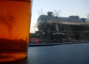 Watercress Line - Ropley - 2013 - Real Ale Train - Black 5 45379