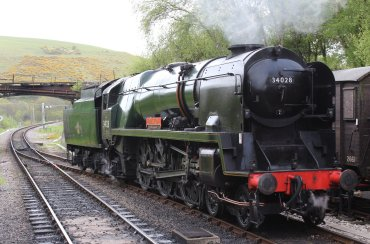 2013 - Swanage Railway - Norden - Rebuilt West Country class - 34028 Eddystone