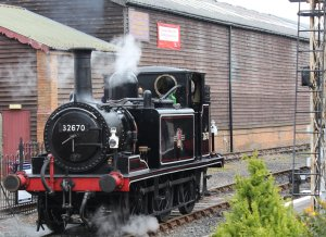 2013 - Kent and East Sussex Railway - Tenterden Town - Ex-LBSCR A1X Terrier - 32670