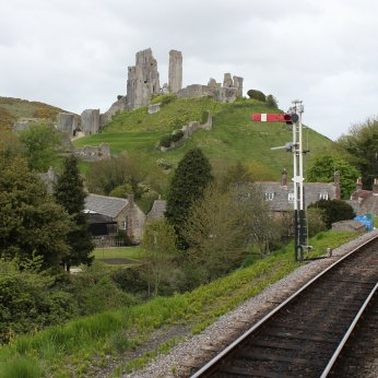 2013 - Swanage Railway - Corfe Castle