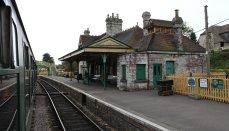 2013 - Swanage Railway - Corfe Castle booking office