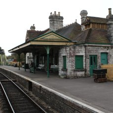 2013 - Swanage Railway - Corfe Castle booking office