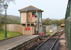 2013 - Swanage Railway - Harmans Cross signal box
