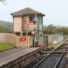 2013 - Swanage Railway - Harmans Cross signal box
