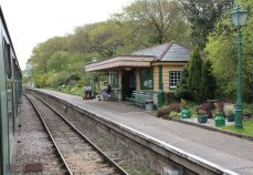 2013 - Swanage Railway - Harmans Cross booking office