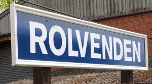 2013 - Kent and East Sussex Railway - Rolvenden sign