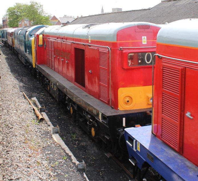 2013 - Swanage Railway - Swanage - class 20 - 20189