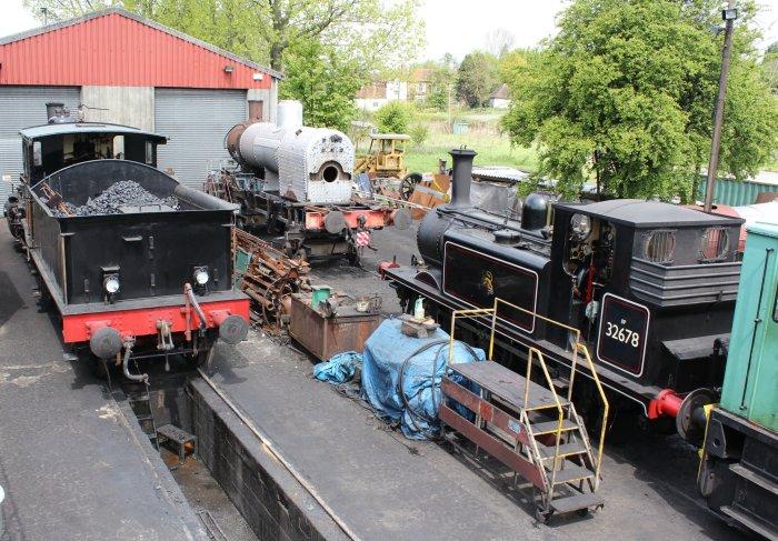 2013 - Kent and East Sussex Railway - Rolvenden - Ex-LBSCR A1X Terrier 32678 & 376 Norwegian