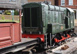 2013 - Swanage Railway - Swanage - Class 08 - D3591