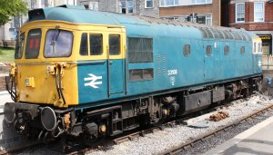 2013 - Swanage Railway - Swanage - Class 33 Crompton - 33108