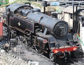 2013 - Swanage Railway - Swanage - BR Standard class 4MT - 80104