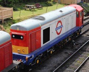 2013 - Swanage Railway - Swanage - class 20 - 20227 London Underground