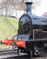 2013 - Swanage Railway - Ex-LSWR M7 class - 30053 (BR lined late crest) smokebox