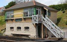 2013 - Swanage Railway - Swanage - signal box