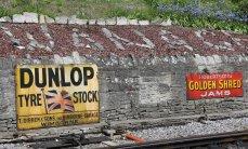 2013 - Swanage Railway - Swanage - adverts