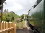 2013 - Swanage Railway - Corfe Castle - Rebuilt West Country class - 34028 Eddystone