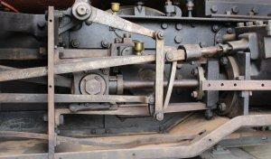 2013 - Swanage Railway - Corfe Castle - Secundus (outside Stephenson valve gear)