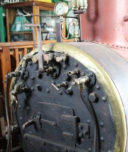 2013 - Swanage Railway - Corfe Castle - Secundus (cab)