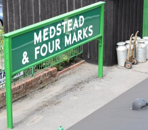 2013 Watercress Line - Medstead and Four Marks