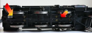 Bachmann ex-LMS Ivatt 4MT 2-6-0 43160 - DCC Fitting Guide - Step 1