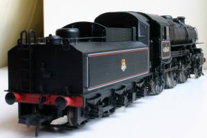 Bachmann ex-LMS Ivatt 4MT 2-6-0 43160 (rear shot)
