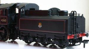 Bachmann ex-LMS Ivatt 4MT 2-6-0 43160 (tender)
