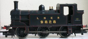 Hornby Railroad - LNER J83 - model review - 9828 (profile)