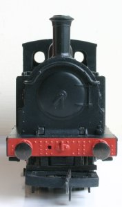 Hornby Railroad - LNER J83 - model review - 9828 (smokebox face)