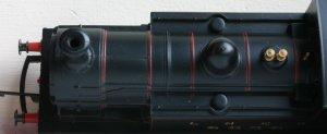 Hornby Railroad - LNER J83 - model review - 9828 (top view)