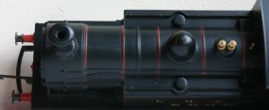 Hornby Railroad - LNER J83 - model review - 9828 (top view)