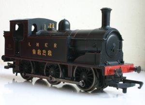 Hornby Railroad - LNER J83 - model review - 9828