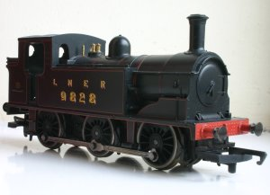Hornby Railroad - LNER J83 - model review - 9828