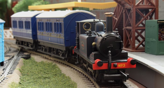 Locoyard - Hornby - A1X Terrier - Kent and East Sussex Railway - 3 Bodiam (Station)