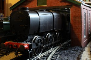 Locoyard - Hornby - Southern Bulleid Q1 class - C1 (on-shed)