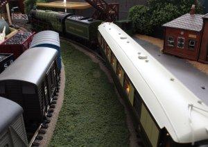 Locoyard - The Romance of Steam - Bachmann - A1 class - 60163 Tornado (view from bridge)