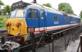 2013 - Watercress Line - Ropley - Class 50 - 50027 Lion