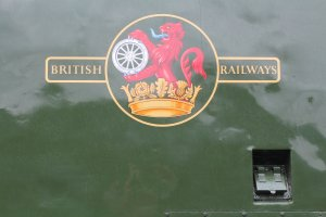 2013 - Watercress Line - Ropley - Class 37 - D6836 BR emblem (late)