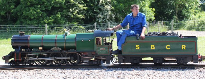 8th June 2013 - Eastleigh Lakeside - Surrey Border & Camberley Railway and the Locomotives of HCS Bullock Day - 2006 Edward VIII