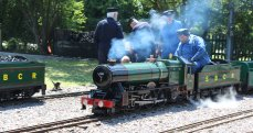8th June 2013 - Eastleigh Lakeside - Surrey Border & Camberley Railway and the Locomotives of HCS Bullock Day - 2005 Silver Jubilee
